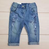 شلوار جینز دخترانه 23156 سایز 3 ماه تا 5 سال مارک NEXT