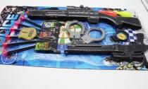 ست تفنگ پلیس روکارتی جفتی کد500217