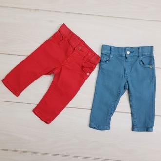 شلوار جینز رنگی 23277 سایز بدوتولد تا 3 سال