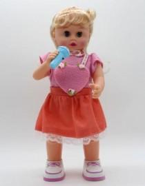 عروسک متحرک و خواننده LOVELY GIRL کد 800299