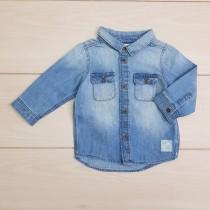 پیراهن جینز 23273 سایز 4 ماه تا 2 سال مارک H&M
