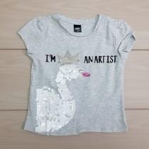 تی شرت دخترانه 22938 سایز 3 تا 8 سال مارک MAX