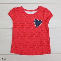 تی شرت دخترانه 23307 سایز 12 ماه تا 5 سال