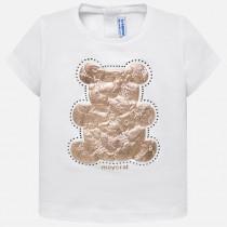تی شرت دخترانه 23511 سایز 9 تا 36 ماه مارک MAYORAL