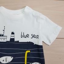 تی شرت پسرانه 23535 سایز 2 تا 8 سال مارک COCCODRILLO