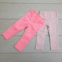 شلوار جینز دخترانه 23517 سایز 6 ماه تا 9 سال مارک GIRLS