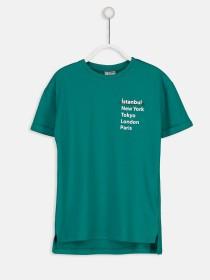 تی شرت پسرانه 23302 سایز 3 تا 15 سال مارک LC WALKIKI