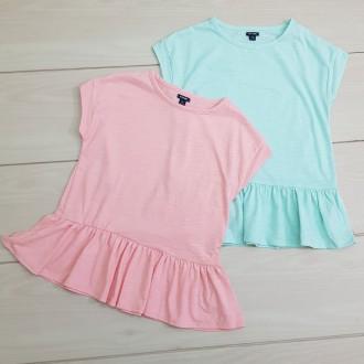 تی شرت دخترانه 23522 سایز 4 تا 12 سال مارک KIABI