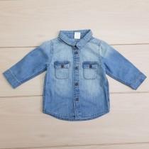 پیراهن پسرانه 23595 سایز 6 ماه تا 2 سال مارک H&M