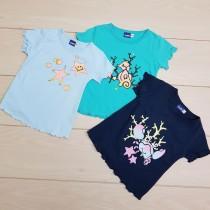 تی شرت دخترانه 23596 سایز 18 ماه تا 8 سال مارک LUPILU