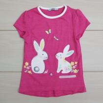 تی شرت دخترانه 23382 سایز 3 تا 7 سال مارک GEORGE