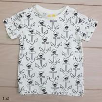 تی شرت پسرانه 23551 سایز 1 تا 10 سال مارک KIDS