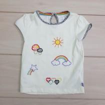 تی شرت دخترانه 23660 سایز 9 ماه تا 10 سال