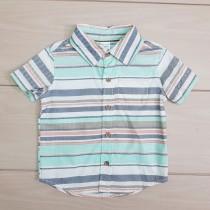 تی شرت پسرانه 23698 سایز بدوتولد تا 18 ماه مارک Carters