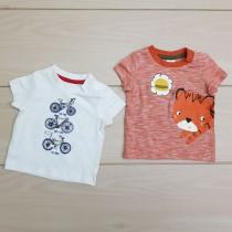 تی شرت پسرانه 23593 سایز 3 ماه تا 2 سال مارک BABY CLUB