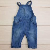 پیشبندار جینز 23695 سایز 3 ماه تا 3 سال مارک OBAIBI