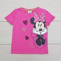 تی شرت دخترانه 23371 سایز 1.5 تا 6 سال مارک DISNEY