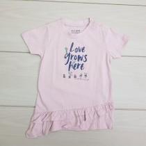 تی شرت دخترانه 23414 سایز 6 ماه تا 2 سال مارک BLUE SEVEN