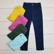 شلوار جینز رنگی 23693 سایز 3 تا 8 سال مارک KIABI