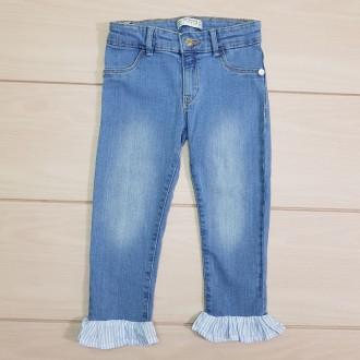 شلوار جینز دخترانه 23742 سایز 3 تا 14 سال مارک  TERRANOVA