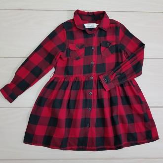مانتو سارافونی دخترانه 23791 سایز 1.5 تا 10 سال مارک H&M