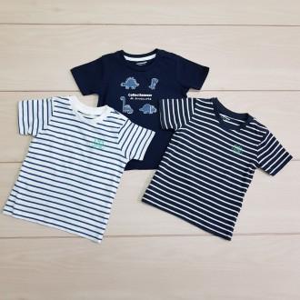 تی شرت پسرانه 23780 سایز بدوتولد تا 3 سال مارک VERTBAUDET