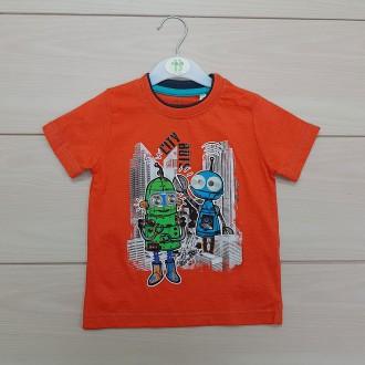 تی شرت پسرانه 23829 سایز 12 ماه تا 6 سال مارک JUNK