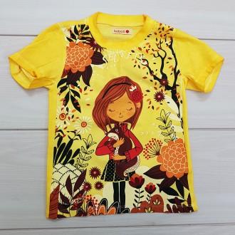 تی شرت دخترانه 23823 سایز 2 تا 14 سال مارک BOBOLI