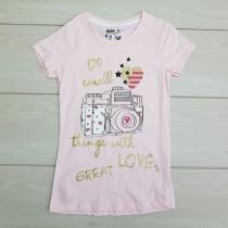 تی شرت دخترانه 23798 سایز 8 تا 16 سال مارک MAX