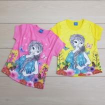 تی شرت دخترانه 23976 سایز 2 تا 6 سال مارک DISNEY