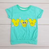 تی شرت دخترانه 24009 سایز 2 تا 8 سال مارک DISNEY