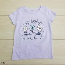 تی شرت دخترانه 24011 سایز 1 تا 7 سال مارک KIDS & CO