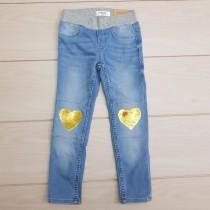 شلوار جینز دخترانه 24022 سایز 3 تا 8 سال مارک LINDEX