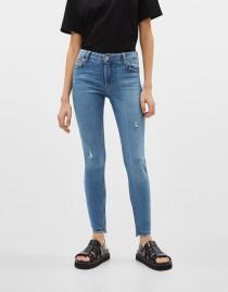 شلوار جینز زنانه 23969 سایز 32 تا 42 مارک Breshka