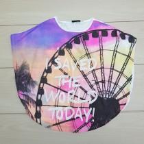 تی شرت دخترانه 24099 سایز 9 تا 16 سال مارک PAGE
