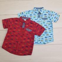 پیراهن پسرانه 24157 سایز 2 تا 8 سال مارک Carters