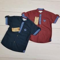 پیراهن پسرانه 24188 سایز 1.5 تا 8 سال مارک H&M