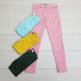 شلوار جینز رنگی 24282 سایز 3 تا 12 سال مارک KIABI