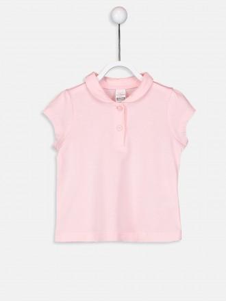 تی شرت دخترانه 24241 سایز 6 تا 24 ماه مارک LC WALKIKI