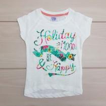تی شرت دخترانه 24286 سایز 2 تا 8 سال مارک PEBBLE STONE