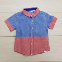 پیراهن پسرانه 24363 سایز 3 ماه تا 3 سال مارک MANGO