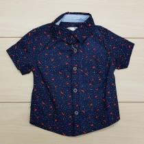 پیراهن پسرانه 24358 سایز 3 ماه تا 4 سال مارک ZARA