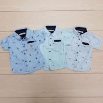 پیراهن پسرانه 24370 سایز 12 ماه تا 7 سال مارک ZARA