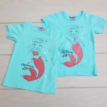 تی شرت دخترانه 24391 سایز 2 تا 5 سال مارک DOPODOPO