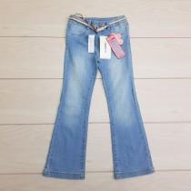 شلوار جینز دخترانه 24420 سایز 5 تا 14 سال مارک LC WALKIKI