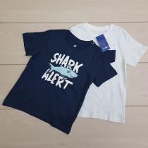 تی شرت دو عددی پسرانه 24435 سایز 18 ماه تا 6 سال مارک LUPILU