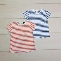 تی شرت دخترانه 24535 سایز 18 ماه تا 5 سال مارک  KIABI