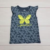 تی شرت دخترانه 24491 سایز 18 ماه تا 2 سال مارک TOPO MINI
