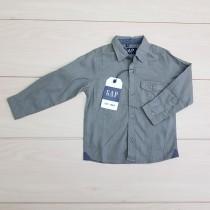 پیراهن استین بلند پسرانه 24484 سایز 2 تا 8 سال کد 1 مارک GAP