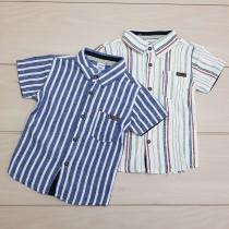 پیراهن پسرانه 24455 سایز 9 ماه تا 6 سال مارک LC WALKIKI
